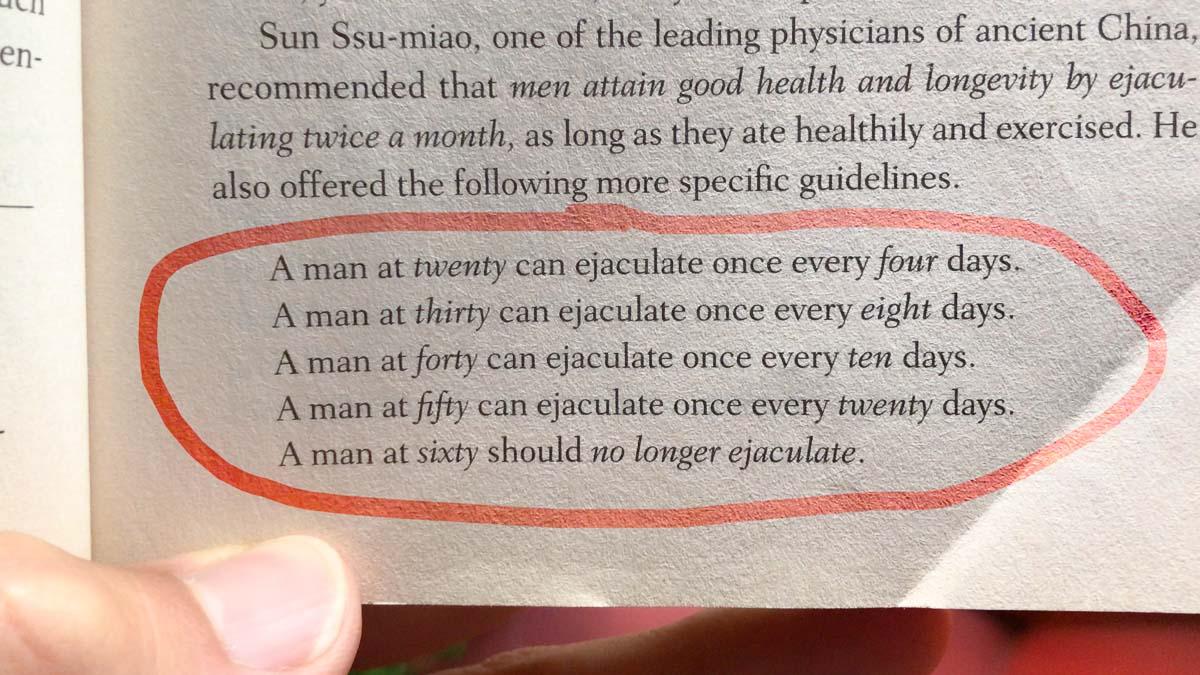 How often should you ejaculate - multiorgasmic man mantak chia taylor johnson